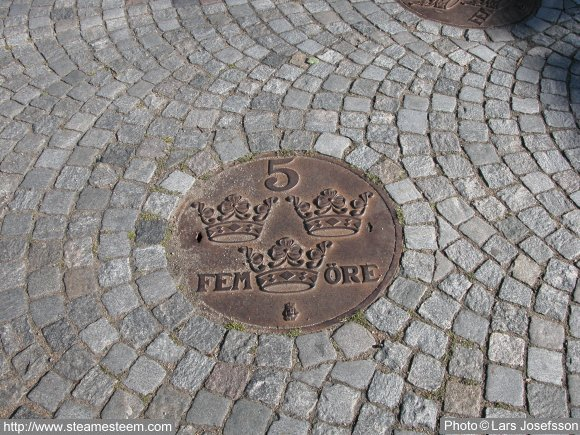 Manhole covers in Karlshamn