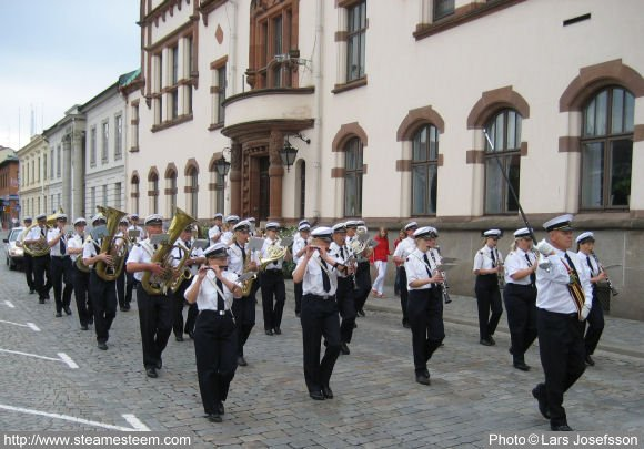 Summer Saturdays Kl. 10 goes marching band by Karlshamn